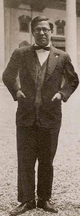 Vittorio Beonio-Brocchieri in una foto degli anni Venti. Laureatosi nel 1926, nel successivo anno accademico diventa professore incaricato del corso di Dottrine politiche contemporanee.